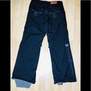 Burton Western Pocket  Black Ski Snowboard Pants M